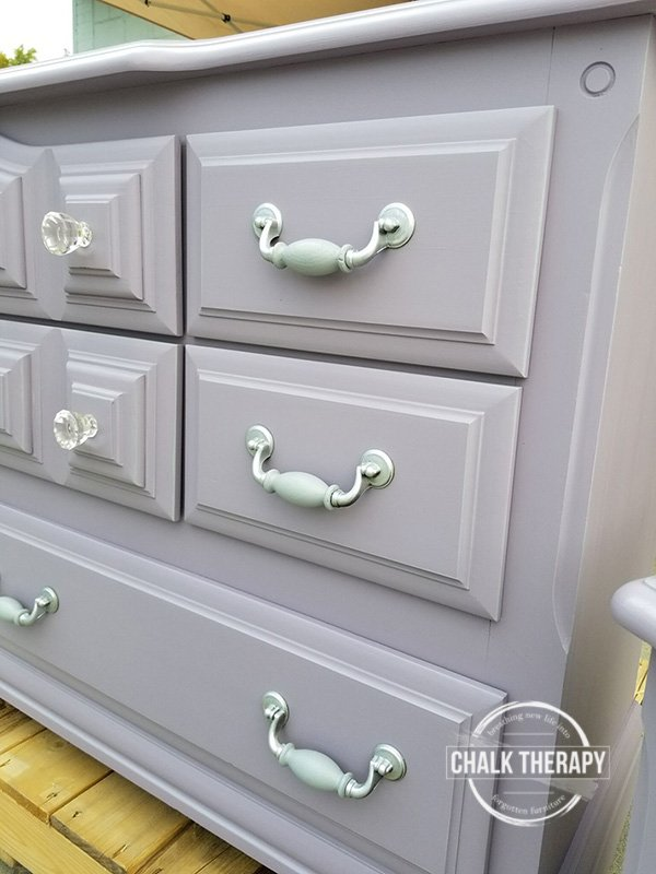 fusion custom colour #2 dresser and side table