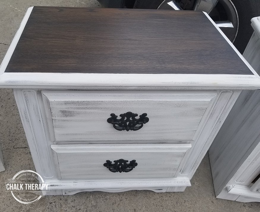 crinoline and rocky mountain dry side table