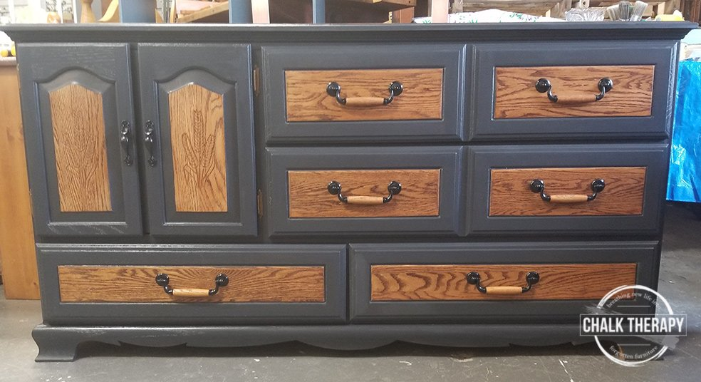 custom fusion mineral paint blend dresser