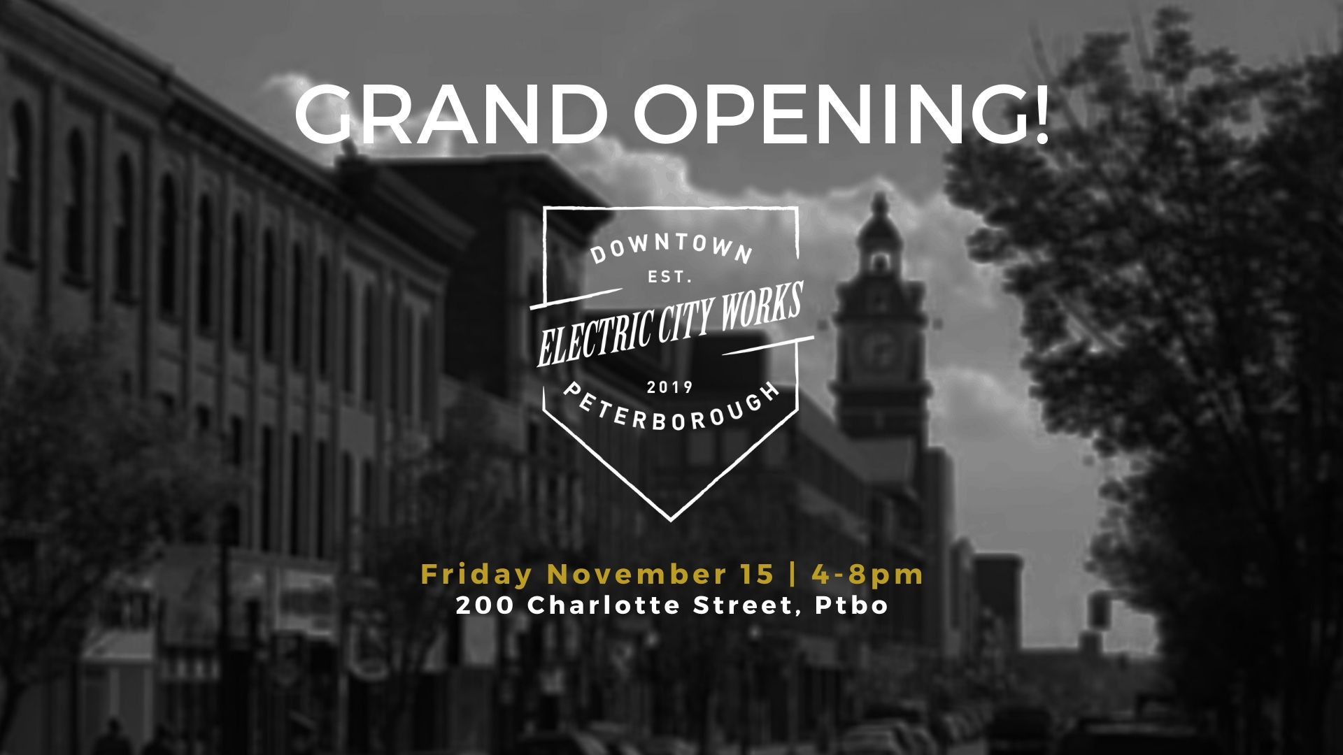 Grand Opening Electric City Works