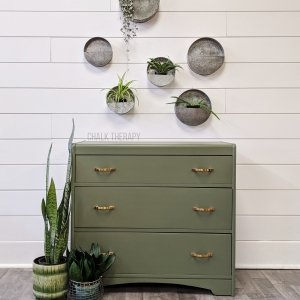 Bayberry 3 Drawer Waterfall Dresser