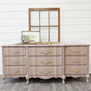 Damask French Provincial 9 Drawer Dresser