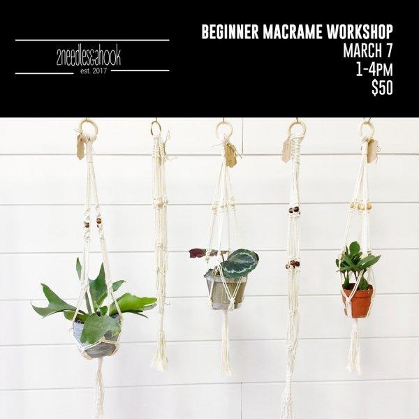 Beginners macrame workshop