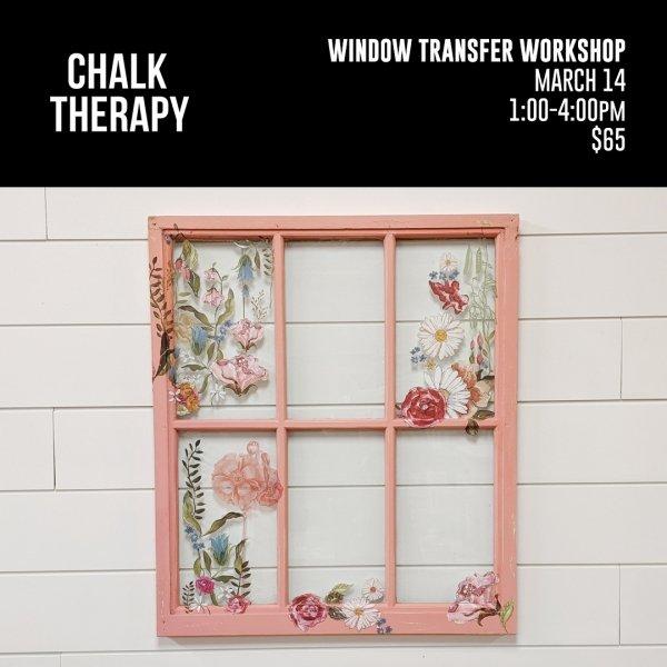 Window Transfer Workshop
